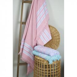 Полотенце пляжное Pestemal Escape Apricot pink  BARINE