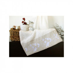 Полотенце махровое Petite ecru Молочное BARINE