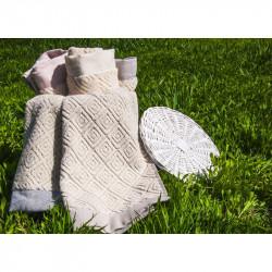 Полотенце махровое Knidos Natural BULDANS