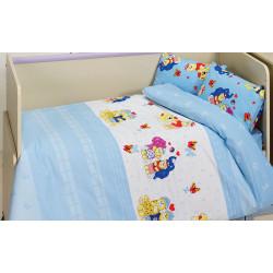 Детское постельное белье Happy v1 Mavi CLASS