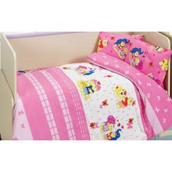 Детское постельное белье Happy v2 Pembe CLASS