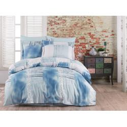 Постельное белье Arcadia v3 Blue Сатин CLASS