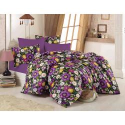 Постельное белье Botanical Purple Сатин CLASS