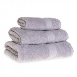 Махровое полотенце Grange Серое