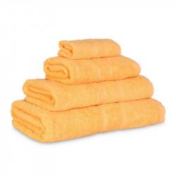 Махровое полотенце Luxury Желтое