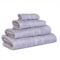 Махровое полотенце Luxury Серое