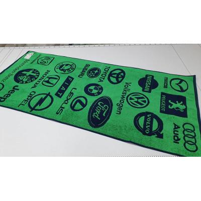 Полотенце Авто (зеленый)