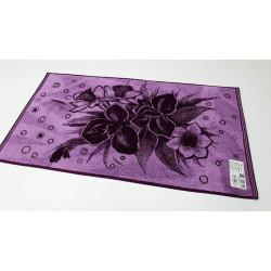 Полотенце Ирисы фиолет