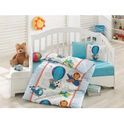 Комплект для новорожденных Ucan Dostlar Mavi COTTON BOX