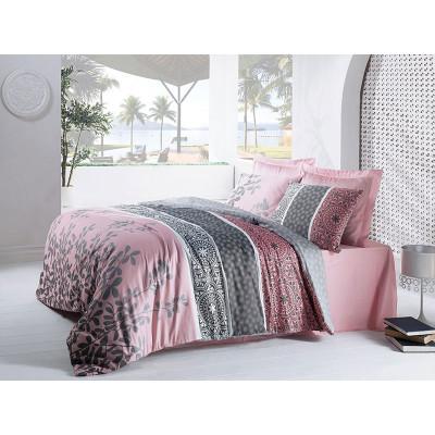 Комплект постельного белья Mahidevran Pembe COTTON BOX