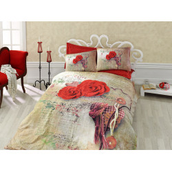 Комплект постельного белья Greta Kirmizi COTTON BOX
