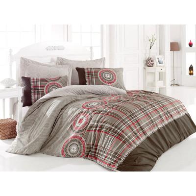 Комплект постельного белья Diana Kahve COTTON BOX
