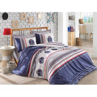 Комплект постельного белья Arma Lacivert COTTON BOX