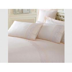 Комплект постельного белья Cappuccino с вышивкой COTTON BOX