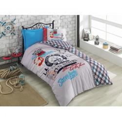 Подростковое постельное белье Major Turkuaz COTTON BOX COTTON BOX