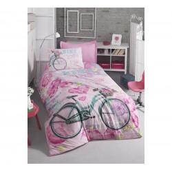 Подростковое постельное белье Bike Pembe COTTON BOX COTTON BOX