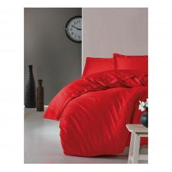 Однотонное постельное белье Elegant Series Kirmizi COTTON BOX