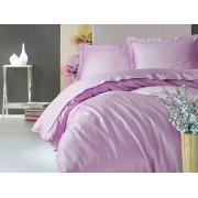 Однотонное постельное белье Elegant Series Lila COTTON BOX