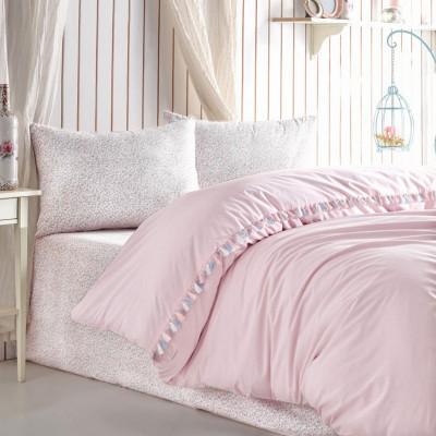 Однотонное постельное белье Rita Pudra COTTON BOX
