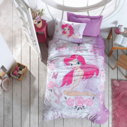 Подростковое постельное белье Fairy Lila COTTON BOX