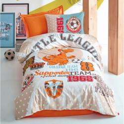 Подростковое постельное белье Little Team Turuncu COTTON BOX