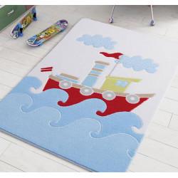 Коврик для ванной Baby Ship Blue Confetti