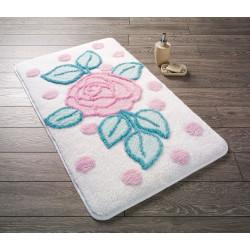 Коврик для ванной Biblos Snow White Confetti