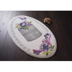 Коврик для ванной Flower Cage Purple Confetti