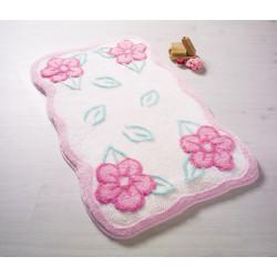 Коврик для ванной Ramses Pastel Pembe Confetti