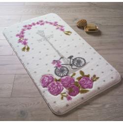 Коврик для ванной Vintage Bike D. Pink Confetti