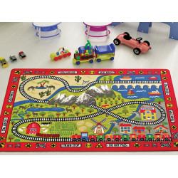 Детский коврик Railway Kirmizi Confetti TM