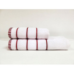 Набор полотенец Et.17.004 White - Red CLASS