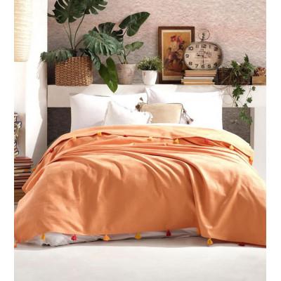 Покрывало пике Ziller Orange DIVA