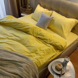Белье с резинкой Желтая звездочка/Желтый Поплин ХЛОПКОВЫЕ ТРАДИЦИИ