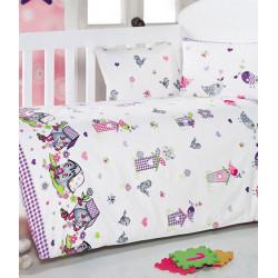 Постельное белье в кроватку Kuslar Lila Eponj Home