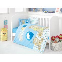 Постельное белье в кроватку Yumos Mavi Eponj Home