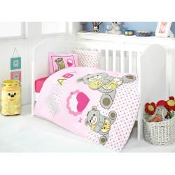 Постельное белье в кроватку Yumos Pembe Eponj Home