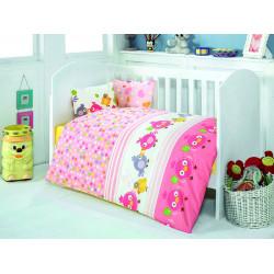 Постельное белье в кроватку Zuzu Pembe Eponj Home