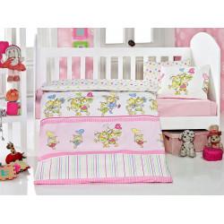 Постельное белье в кроватку Pitircik Pembe Eponj Home