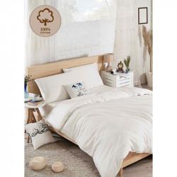 Постельное белье Ранфорс D.Boya beyaz белое Eponj Home