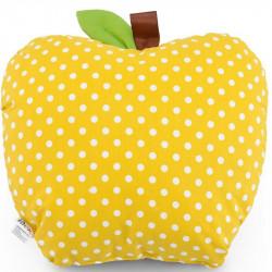 Подушка декоративная Яблоко Желтое ТМ ИДЕЯ