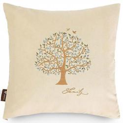 Подушка декоративная Дерево Лен ТМ ИДЕЯ