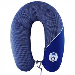 Подушка для кормления стандарт Горох темно-синя ТМ ИДЕЯ
