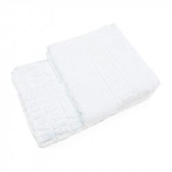 Набор махровых полотенец BATH Белый ТМ ИДЕЯ