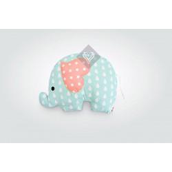 Подушка игрушка Слоненок Ментол/Капля ТМ ИДЕЯ