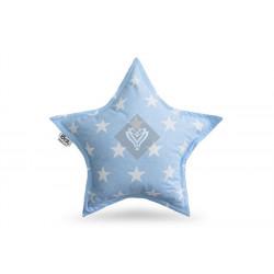 Подушка игрушка Звезда XXL Голубая ТМ ИДЕЯ