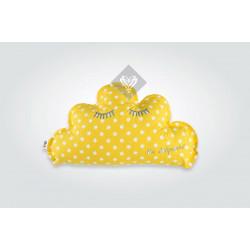 Подушка игрушка Облачко/Звездочка Желтый ТМ ИДЕЯ