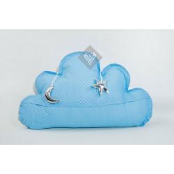 Подушка игрушка Облако Голубое ТМ ИДЕЯ