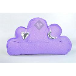 Подушка игрушка Облако Сиреневое ТМ ИДЕЯ