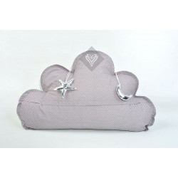 Подушка игрушка Облако Серое ТМ ИДЕЯ